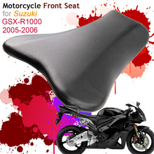 For Suzuki GSXR1000 K5 2005 2006 Front Seat Cover Cushion Leather Pillow GSXR-1000 05 06 Motorcycle Rider Driver Seat