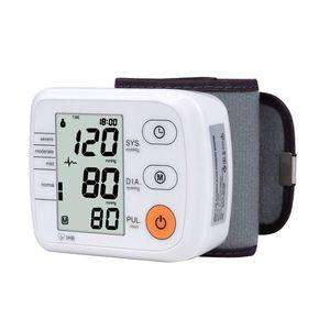 Image 1 - Ciśnieniomierz nadgarstkowy automatyczny cyfrowy miernik tonometru do pomiaru ciśnienia krwi i puls