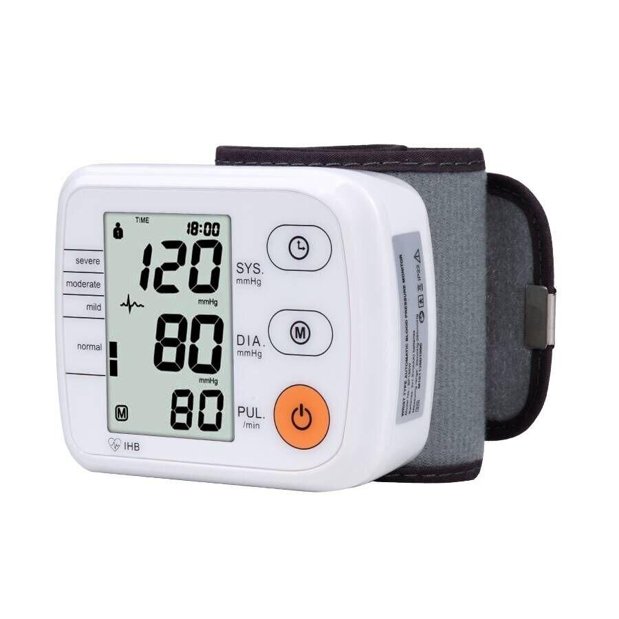 Wrist Blood Pressure Monitor Automatic Digital Tonometer Meter for Measuring Blood Pressure And Pulse Rate