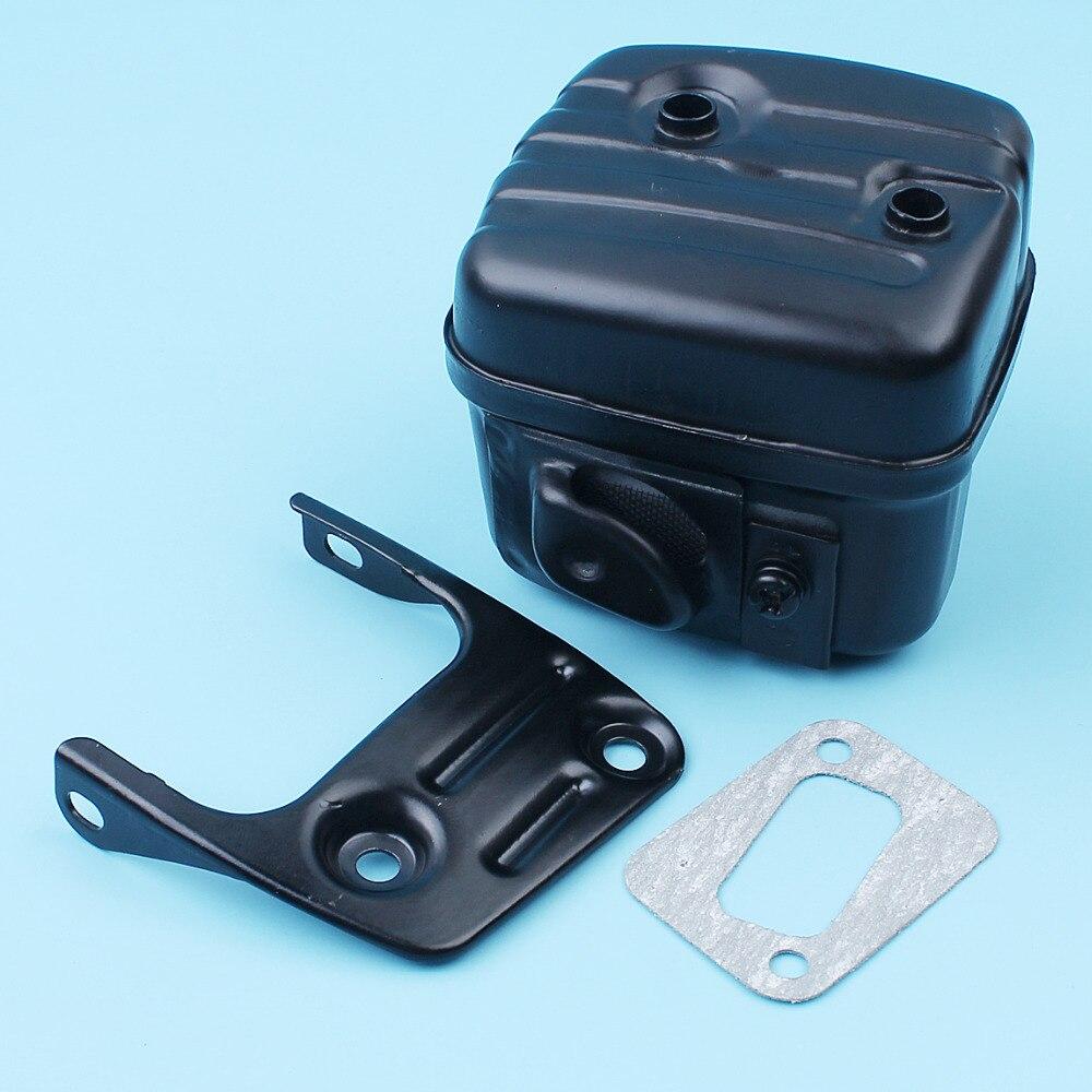 Muffler Exhaust Silencer Bracket Gasket Kit For Husqvarna 350 353 351 345 346XP 340 E EPA Chainsaw 503862803 503879602 503862802