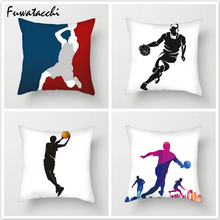 Fuwatacchi 10 Style Sport Cushion Cover Throw Pillows Multi-color Basketball Athelete Printed Pillow Decorative