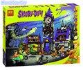 Bela 10432 10431 Scooby Doo Mysterious Ghost House figures Building Block Mini Toys  KKKK