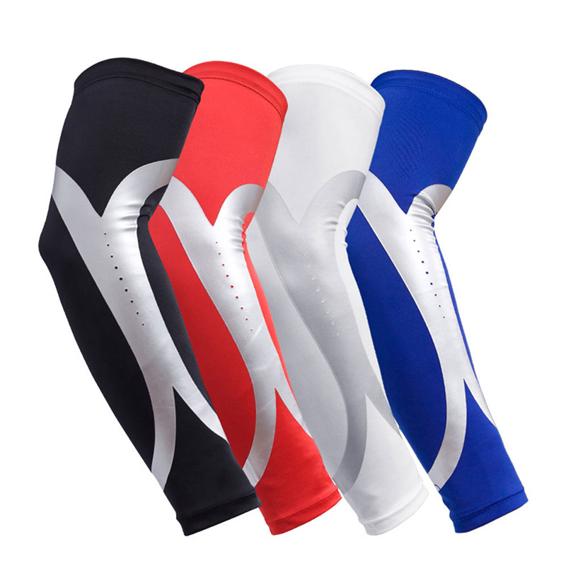 Sports & Entertainment 1pcs Quick Dry Men Running Arm Sleeve Basketball Elbow Pad Fitness Compression Sleeve Cycling Arm Warmers Manguito Ciclismo Invigorating Blood Circulation And Stopping Pains