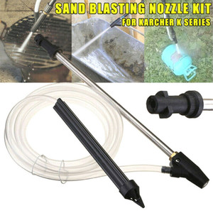 Image 5 - spray washing gun Sand Blaster Wet Blasting Washer Sandblasting Device Kit High Pressure d90710