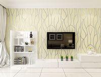Junran 3D Wallpaper For Walls Suede Crafts WallPaper Background Wallpaper Roll Wall Panel Modern Vertical Stripe