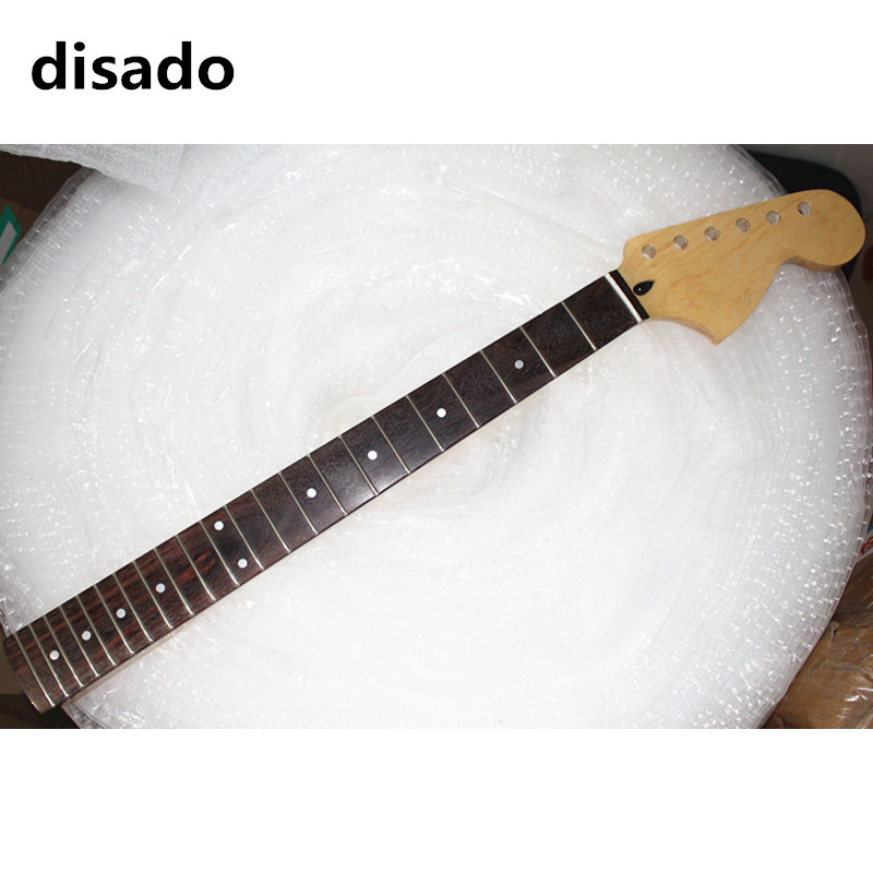 disado 21 22 Frets big headstock maple Electric Guitar Neck rosewood fretboard glossy paint guitar accessories can be customized wilkinson guitar accessories st electric guitar three single coil pickup all colors can be customized real photos free shipping