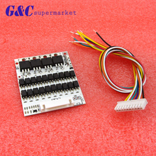 Battery Protection BMS PCB Board For 10 Packs 36V Li-ion Cell Max 40A W/ Balance 53 X 63MM Electronic Circuit Boards Decor