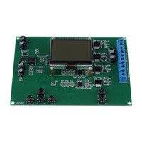 WSFS 1 Pcs 4 20mA 4 Channel Current Signal Generator Module Board Digital Source Transmitter 12864 LCD Current Signal Generator