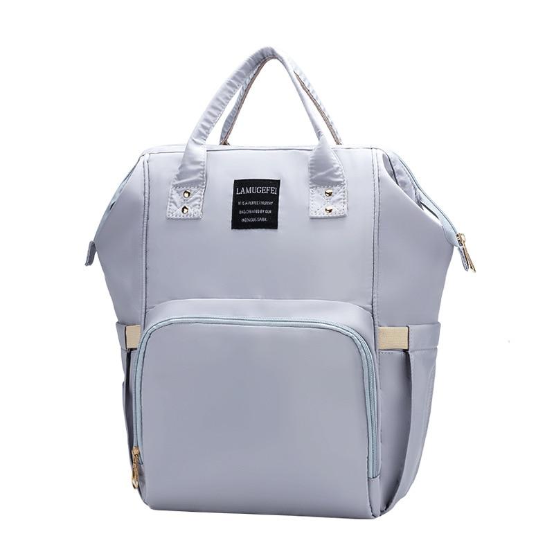Fashion Mummy Bag Diaper Bag Large Capacity Baby Stroller Bag Shoulder Backpack For Mom Hanimom