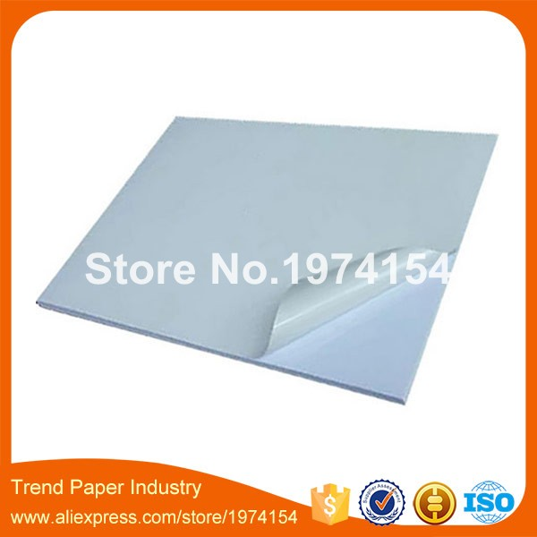 500 Sheets A4 blank waterproof white PP synthetic label for Laser Printers Custom Sticker vinyl Paper