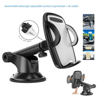 Universal Car Mount Holder Air Vent Cradle Smartphones Stand Bracket For IPhone 7 7 Plus 6