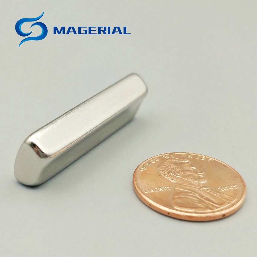 2-48pcs Grade N45 Water Soften NdFeB Magnet Arc R16xr10x45deg.x36 mm Motor magnet for generators wind turbine Neodymium Magnet
