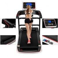 HD цветной экран электрическая беговая дорожка wifi многофункциональное Тренажерное Оборудование для тренировок в помещении для дома беговы