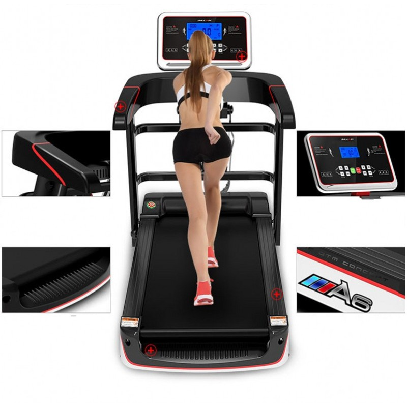 HD pantalla a Color caminadora eléctrica WIFI multifuncional equipo de ejercicio correr entrenamiento deportes de interior para casa cintas de correr