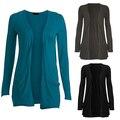 Women Fashion Casual Long Sleeve Pocket Cardigan Sweater Outwear Top Slim Blouse