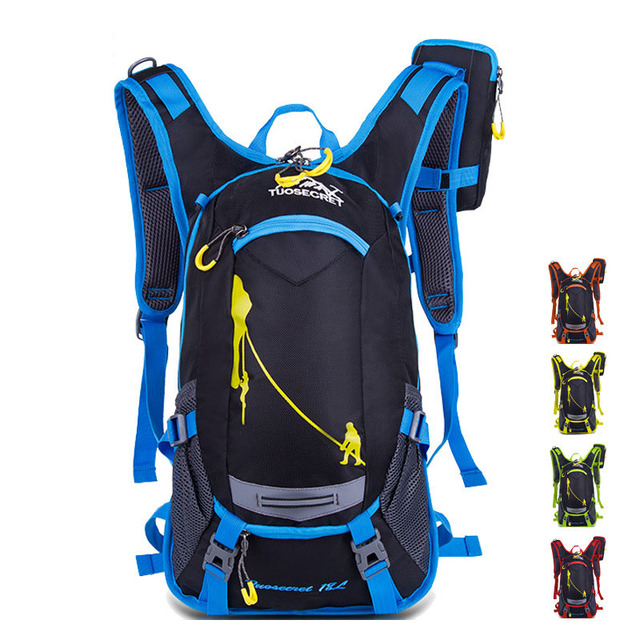 20L Ergonomic Waterproof Bicycle Backpack Ventilate Cycling Climbing Travel Running Portable Backpack Outdoor Sports Water Bags