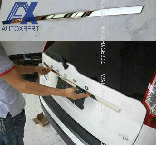 AX FOR 2009-2014 VOLVO XC60 Molding Tailgate Door Handle Strip Accent Garnish Styling Chrome & Online Buy Wholesale volvo door handle from China volvo door ... Pezcame.Com