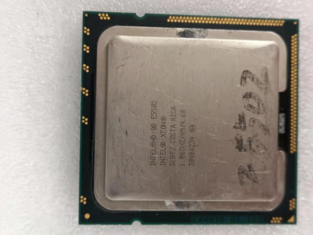 Intel Core 2 Duo E5502 Desktop Processor Dual-Core 1.86GHz 4MB Cache FSB 800MHz LGA 1366 E 5502 Used CPU