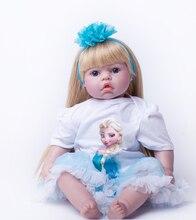 50 см специальной низкой цене силиконовые reborn baby куклы игрушки для девочек brinquedos винил принцесса куклы дети рождественский подарок новый год gif