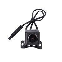 HD cámara de Visión Nocturna trasero con 5.7 metros de cable + 0.1 Lux cam vehículo cámara + IP67 Resistente Al Agua de Doble Lente Del Coche Androide DVR
