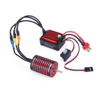 GTSKYTENRC Combo 2838 3700KV 4700KV Brushless Motor w/ 35A ESC for Traxxas HSP Tamiya Axial 1/16 1/12 RC Car