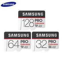 جديد سامسونج بطاقة الذاكرة مايكرو SD بطاقة برو التحمل 100 برميل/الثانية 128 جيجابايت 64 جيجابايت 32 جيجابايت SDXC SDHC فئة 10 TF بطاقة UHS I عبر فلاش بطاقة