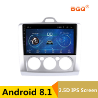9 Android 8.1 Car DVD Multimedia Player GPS For ford focus 2 3 2006 2007 2008 2009 2010 2011 audio car radio stereo navigator