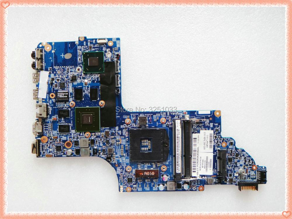 682016-001 for HP PAVILION DV7-7000 NOTEBOOK HM77 630M/2G 48.4ST10.031 Laptop motherboard 682016-501 sheli laptop motherboard for hp dv7 7000 682037 001 682037 501 hm77 630m 2g non integrated graphics card