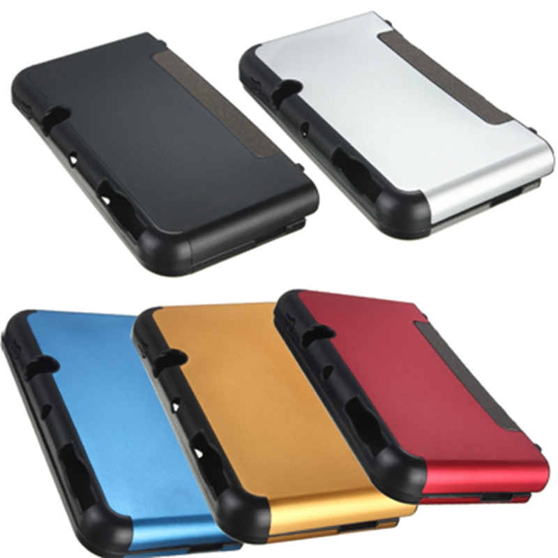 Newest !! Top Selling Style Best Promotion Aluminium Metal Skin Protective Case Cover For Nintendo For New 3DS XL/LL