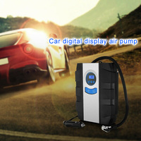 2019 12V Air Compressor Electric Tyre Pump Automobile Flashlight Tire Pump CSL88