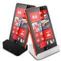 Micro usb de carga del muelle de escritorio del muelle para nokia lumia 929 930 soporte para teléfono nokia lumia 1 m plana micro usb cable