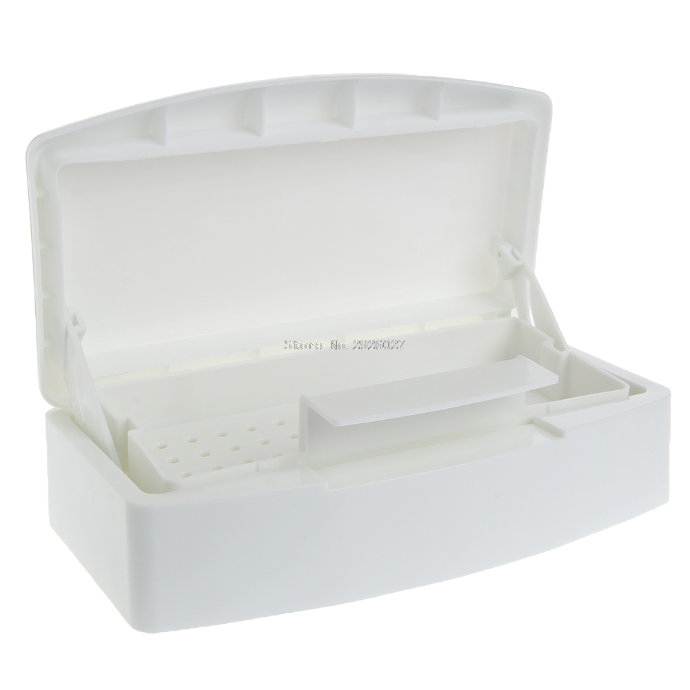 Pro Nail Art Sterilizer Tray Disinfection Pedicure Manicure Sterilizing Box -B118