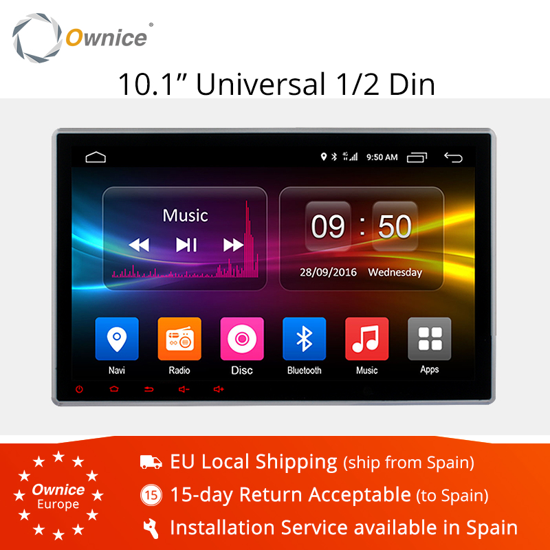 Ownice K2 Android 6.0 Octa 8 Core 10.1