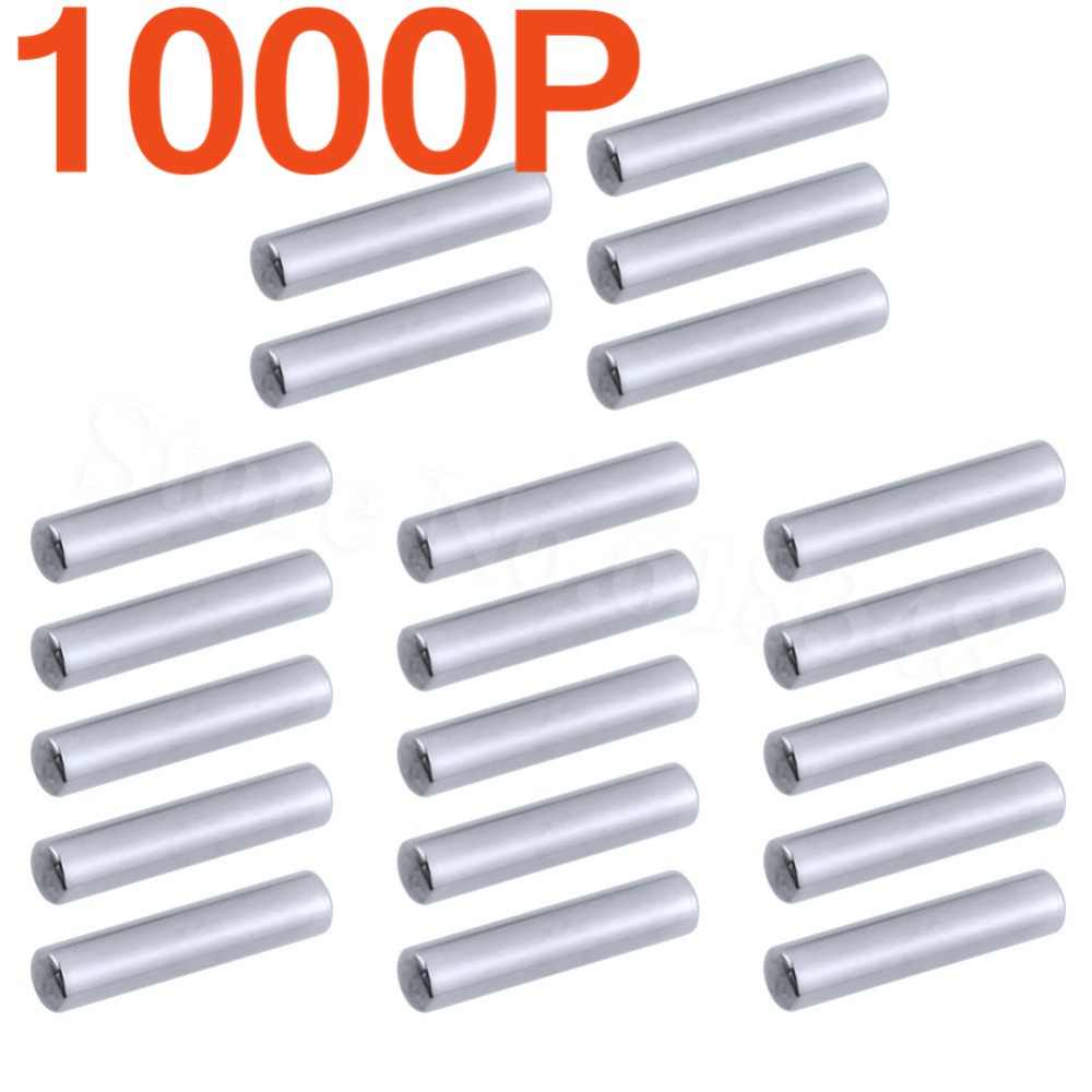 1000 stuks Stalen As cross Stub Pins 2x10mm voor 1:10 Tamiya TRAXXAS AXIALE HPI HBX RC Model auto HSP Himoto Yeah Racing