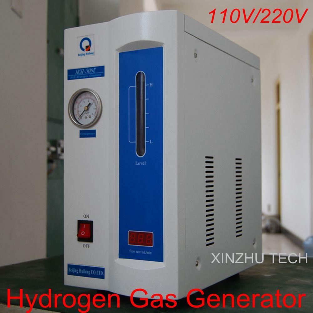 HGH-300E 500E Haute pureté générateur de gaz d'hydrogène H2: 0-300 ml, 0-500 ml pour chromatographe en phase gazeuse 110 V/220 V