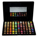 Pro Makeup 88 A Todo Color Paleta de Sombra de ojos Mineral Profesional Luminoso Shimmer Mate Cosmética Set de Maquillaje Con El Cepillo