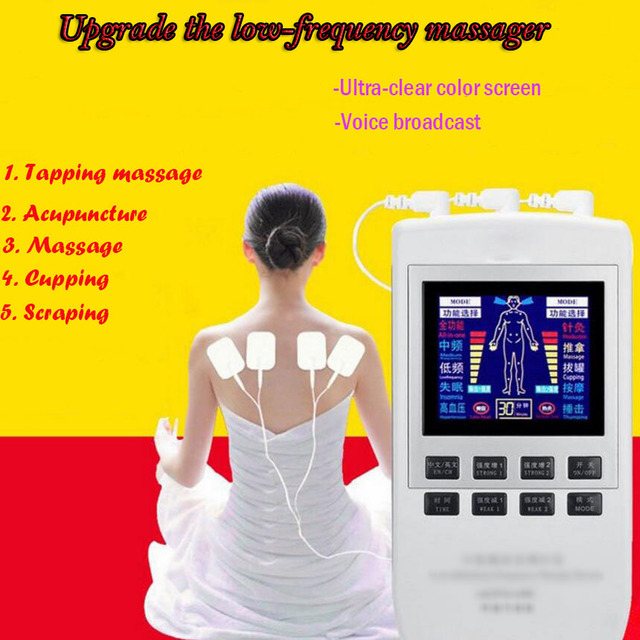 Electronic Body Slimming Pulse Massage for Muscle Relax Pain Relief Stimulator Massageador Tens Acupuncture Therapy Machine SE22