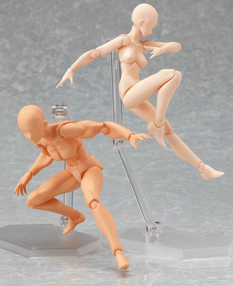 6 Styles Archetype He Archetype She Ferrite SHFiguarts BODY KUN / BODY CHAN Ver. PVC Action Figure Collectible Model Toy archetype transparent ver she