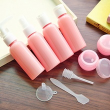 9PCS Creative Travel Portable Bottle Set for travel home accessories bathroom soap dispenser hand sanitize shower gel shampoo