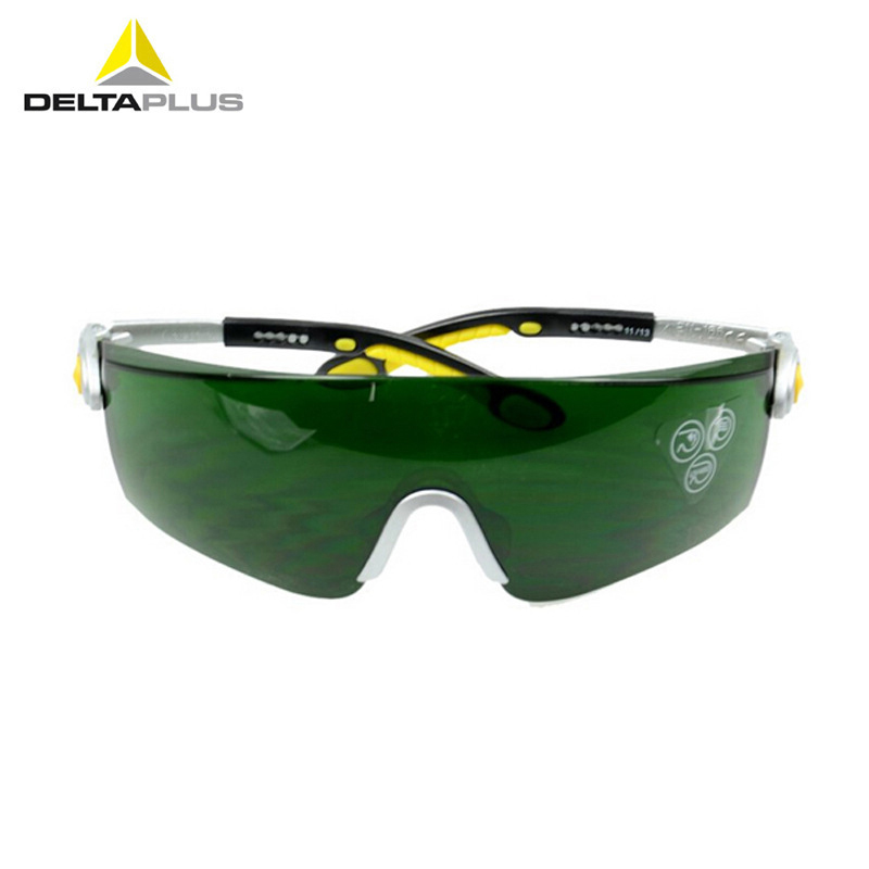 Deltaplus Welding Protective Glasses Anti-Impact Scratch-resistant Comfortable Safety Goggles Working Riding Labor Eyeglasses