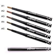 1 шт./лот Popfeel вращающийся, автоматический карандаш для бровей, натуральный, водонепроницаемый, не цветущий, стойкий, усилитель бровей, инструмент для макияжа