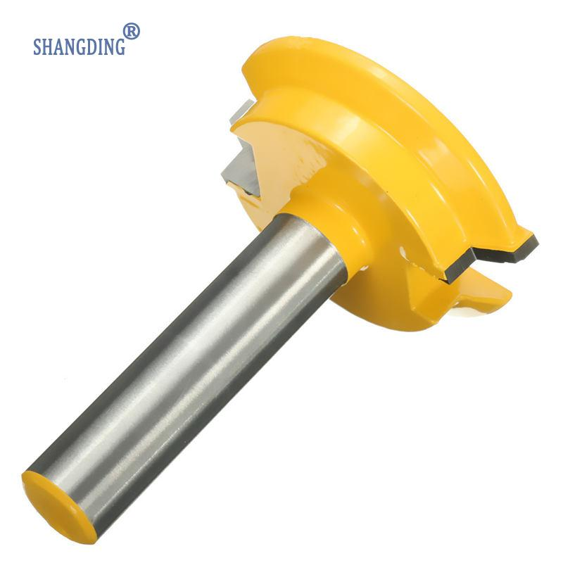 New1/2''Shank Drawer Front Joint RouterBit Wood Drilling Carbide Cutter Reversible1/2inch ShankWoodworkingMachineryTools