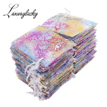 7x9cm Caroline Drawstring Organza Gifts Bags Wedding Party Favors Packaging Sack Jewelry Pouch For Candy Earrings Packing Bags