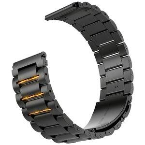 Image 3 - HOCO Edelstahl Armband Quick Release Pins für Apple uhr 44 mm link armband Ersatz Armband für iwatch Serise 4