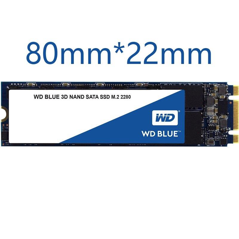 WD Blue M.2 SSD 250G 500G 1 to 2 to disque dur à semi-conducteurs NGFF interne M.2 2280 ssd pour PC portable