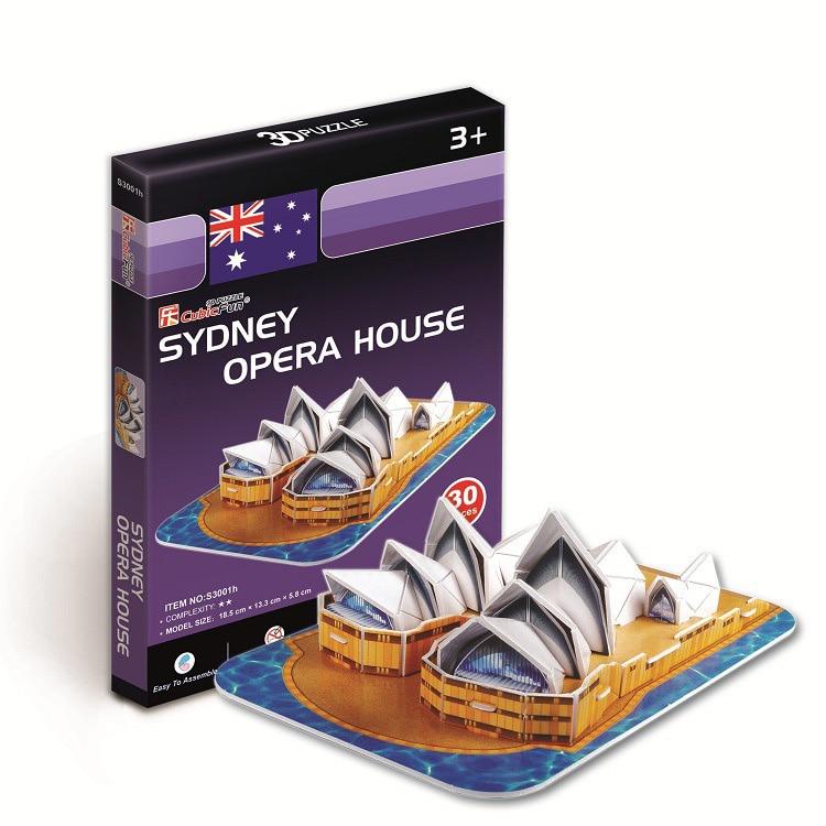 3D Puzzle World Building Paper Modelo dimensional montado Juguetes - Juegos y rompecabezas - foto 2