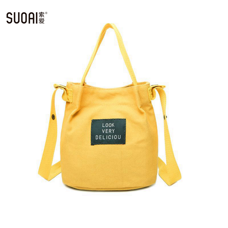 Women Canvas Messenger Bags 2018 Summer New Fashion Small Shoulder Handbags Female Casual Canvas Tote Bag new woman shoulder bags cute canvas women big bags literature and art cartoon girls small fresh bags casual tote