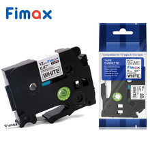 Fimax 14 Kleuren 12mm Compatibel Brother P-touch TZe231 TZe-231 Label Tapes voor Label Maker Printer Gelamineerd Sterke lijm(China)