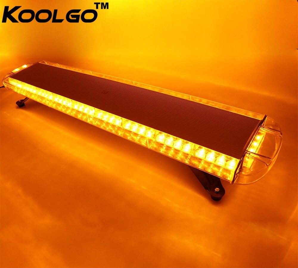 KOOLGO 80 LED Work Light Bar Lamp For Car Truck Police Flashing Emergency Warning Strobe Lights