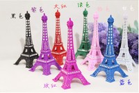 Alloy rich crystal ornaments crafts creative trophy immediately Home Furnishing living room MT Eiffel color